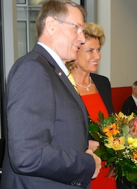 Mit unserem Vizepräsidenten des Deutschen Bundestags, Johannes Singhammer.