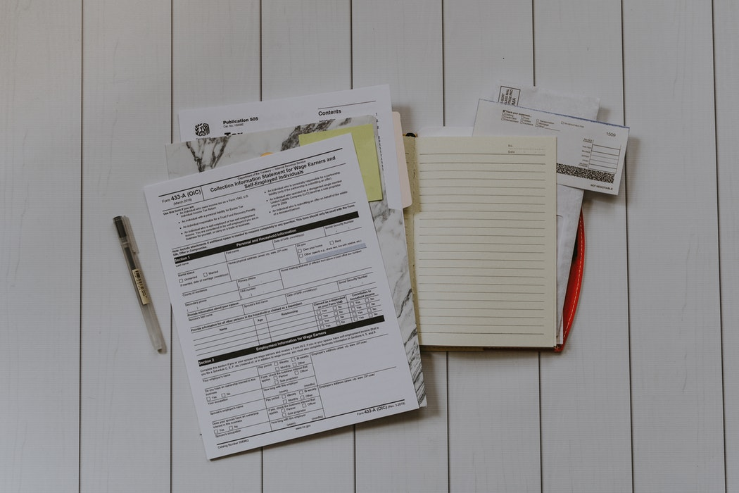 Various tax documents.