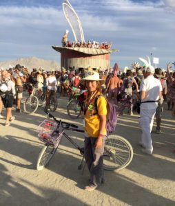 Dalia at Burning Man