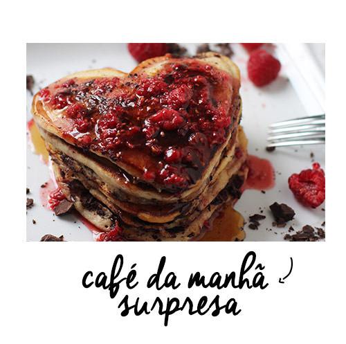 namorados surpresa café manhã