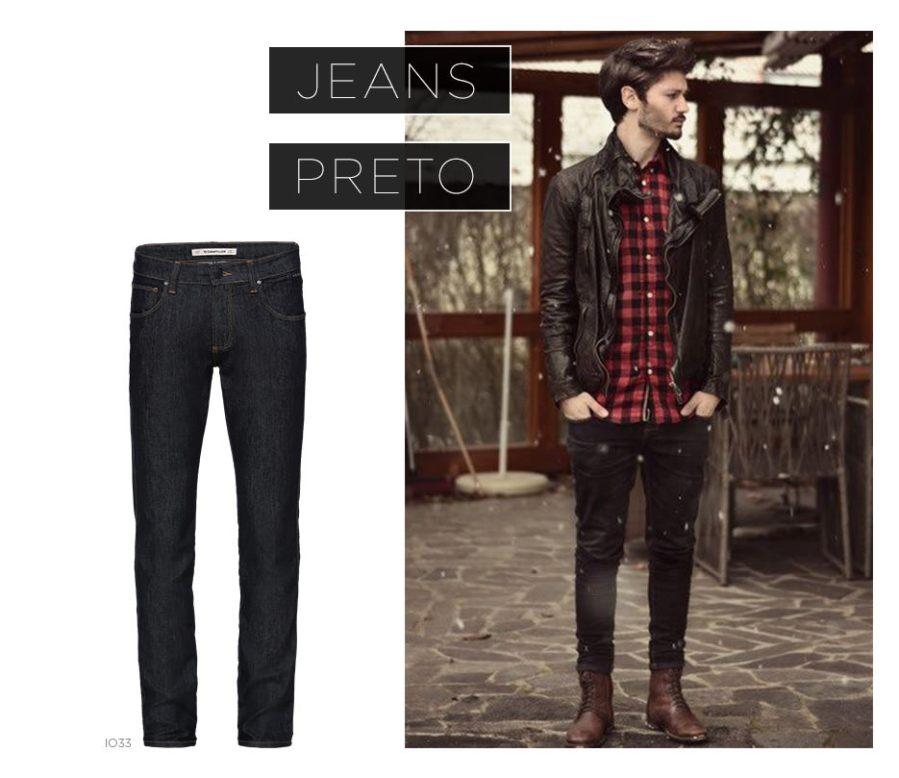 Jeans preto