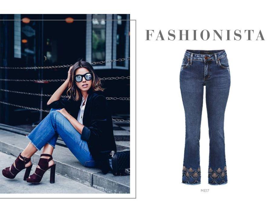 Blazer com calça jeans cropped