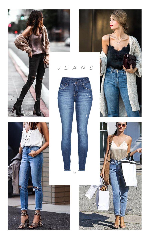 Calça cropped jeans feminino