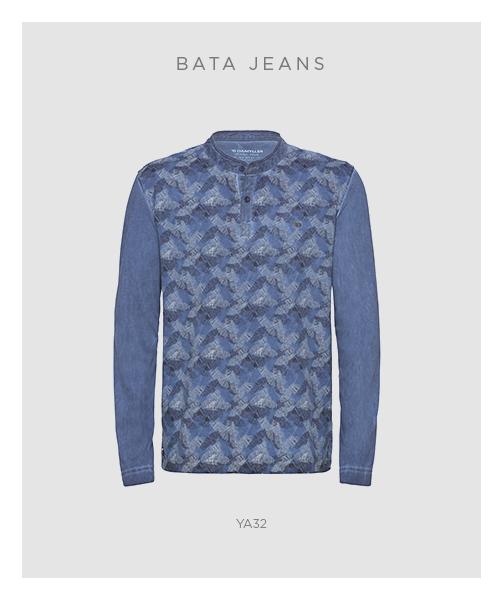 Bata jeans masculinas