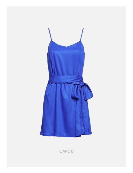 macacao curto azul damyller