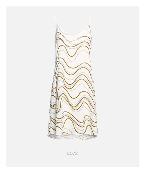 vestido metalizado para o Réveillon