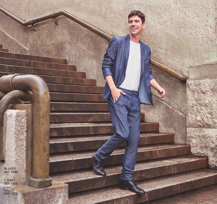 jeans alfaiataria masculino