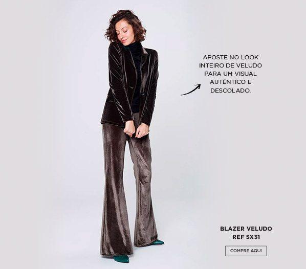 look em veludo da moda dos anos 80