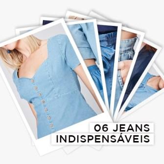 6 jeans indispensáveis para ter já