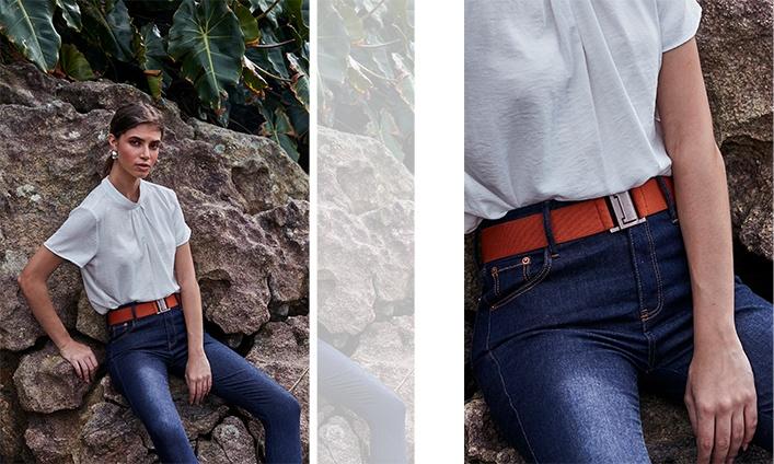 looks minimalistas com jeans