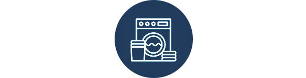 Práticas sustentáveis ao lavar roupas