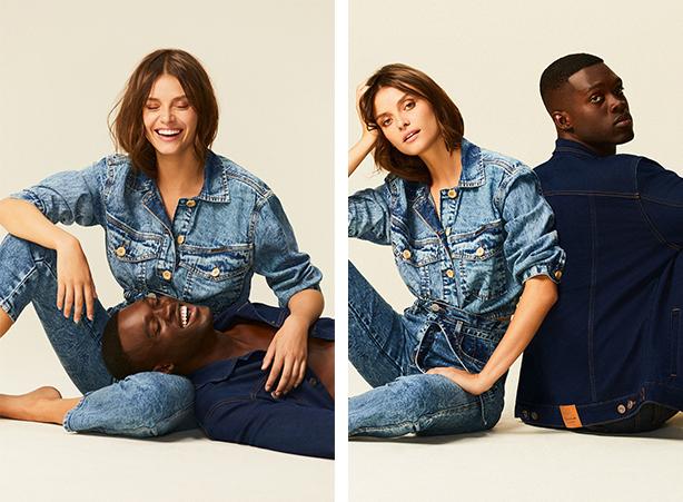Jaqueta jeans ecodamyller