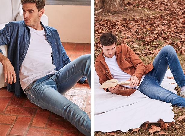 looks para o home office com calça jeans masculina