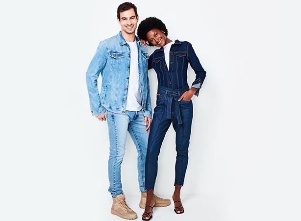 Jeans azul claro ou azul escuro
