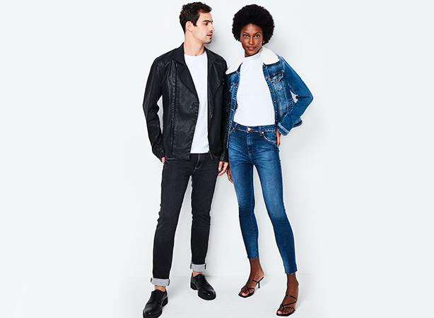 Jeans claro ou escuro