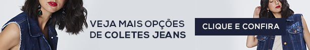 Comprar Colete Jeans