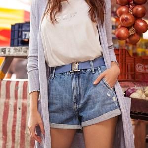 14 modelos de short jeans para ter no closet