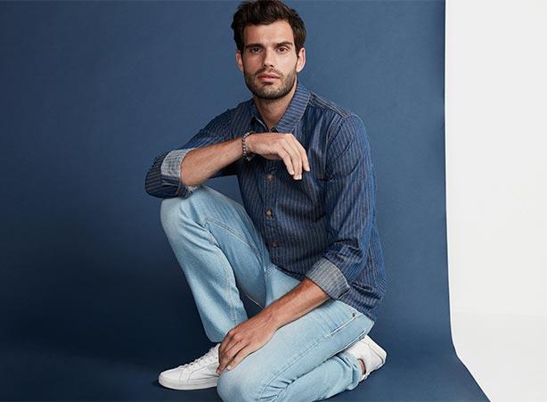Camisa social com calça masculina