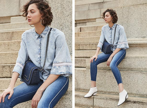 Look casual jeans