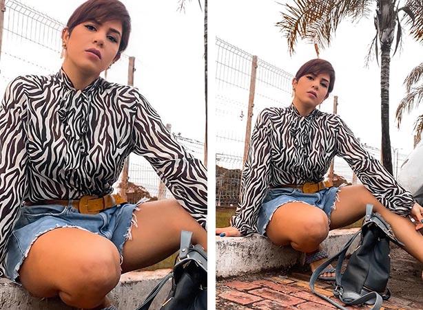 Short jeans godê em looks femininos estilosos