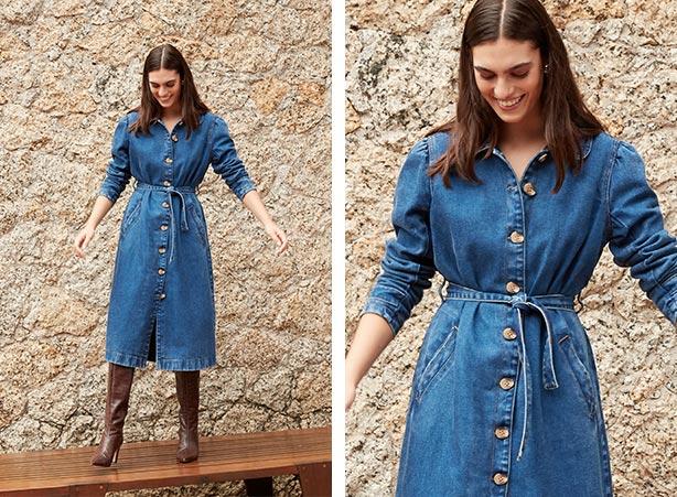 look romântico: Look com trench coat jeans