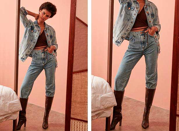 Presentes Dia dos Namorados: Calça slouchy com blusa cropped