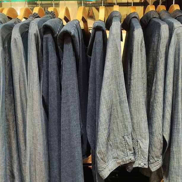 Organizar peças do guarda-roupa