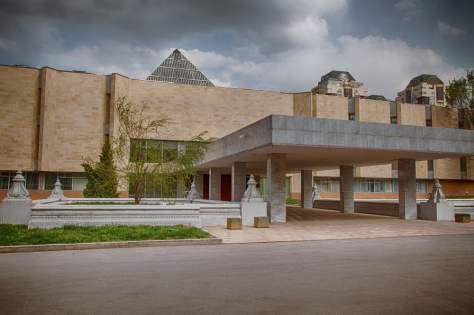 A. Kasteyev State Museum of Arts, built in 1976.