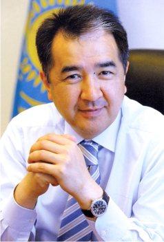 Саясаткер Бақытжан Сағынтаев.