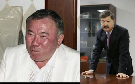 Солдан оңға қарай: Болат Назарбаев пен Болат Өтемұратов.