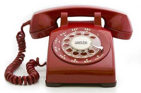 Қызыл телефон.