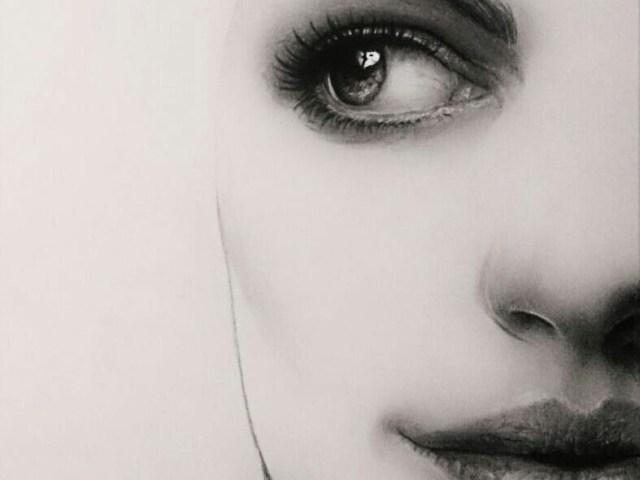 """Dantebus - """"Anne Hathaway ritratto minimale"""" Federico Menegoi"""