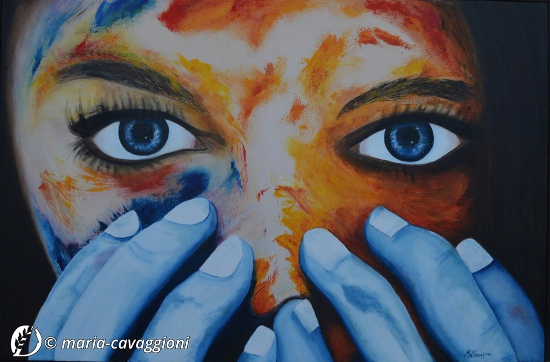 """Dantebus - """"Stregata dal colore"""" Maria Cavaggioni"""