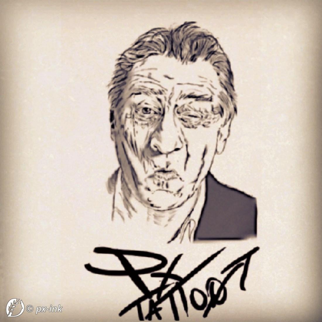 """Dantebus - """"Robert De Niro"""" px-ink"""