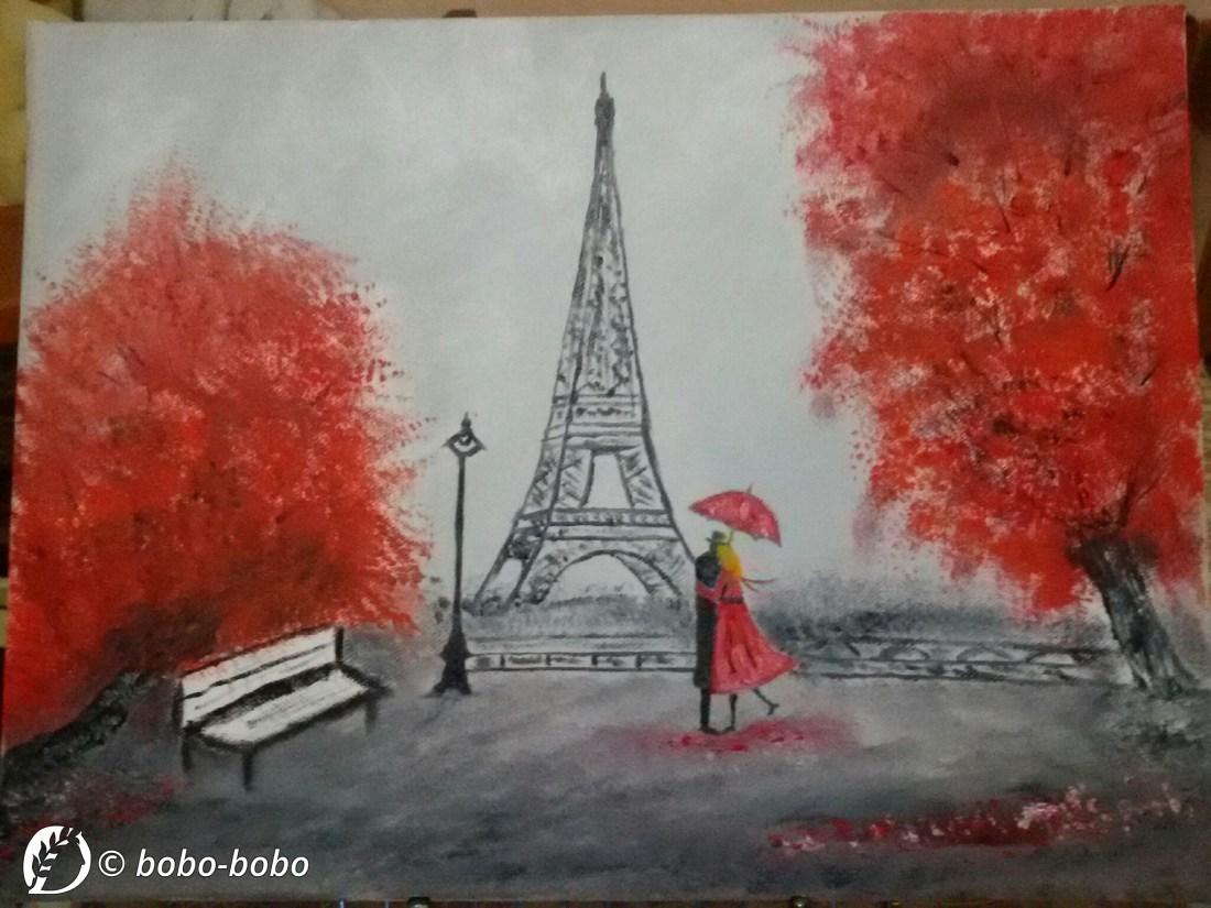 "Dantebus - ""Astratto a Parigi"" Bobo-bobo"