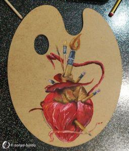 Dantebus - Art in the Heart - Sonya Baldo