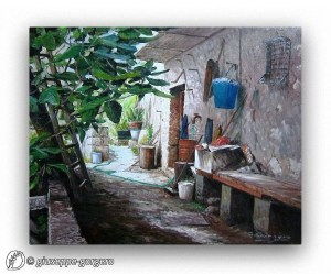 Dantebus - Giuseppe Gorgero - Olio su tela
