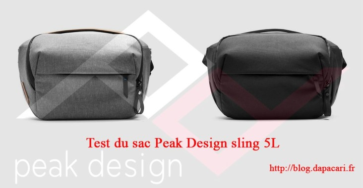 review peak design sling 5L