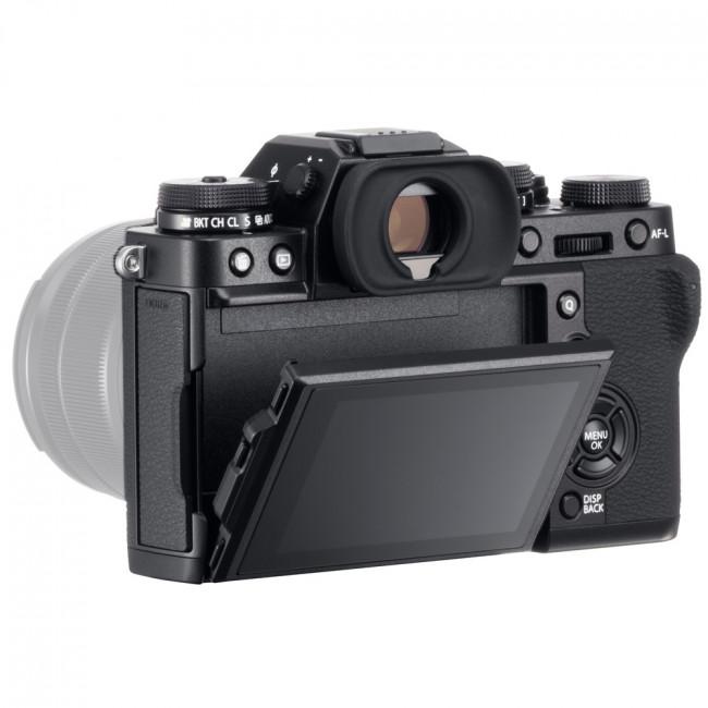 exemple écran inclinable Fujifilm x-t30 vu du dessus