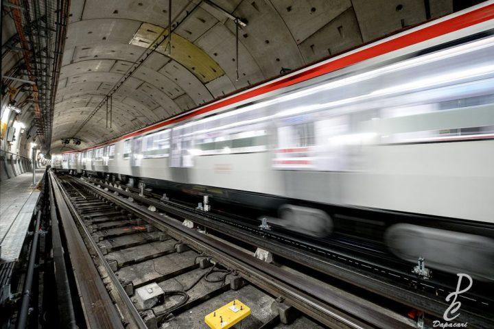 Photo dans les métro de Lyon à Oullins