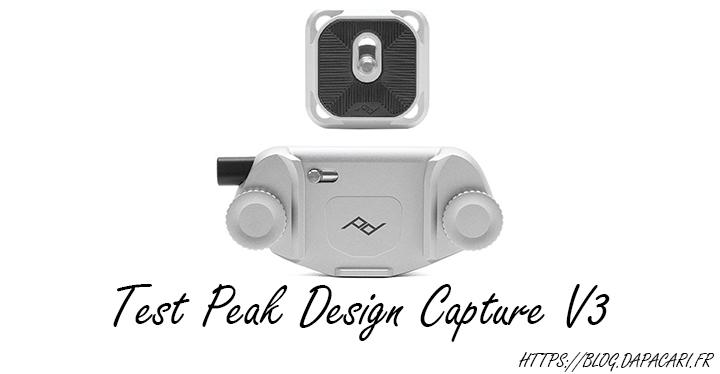 test peak design capture