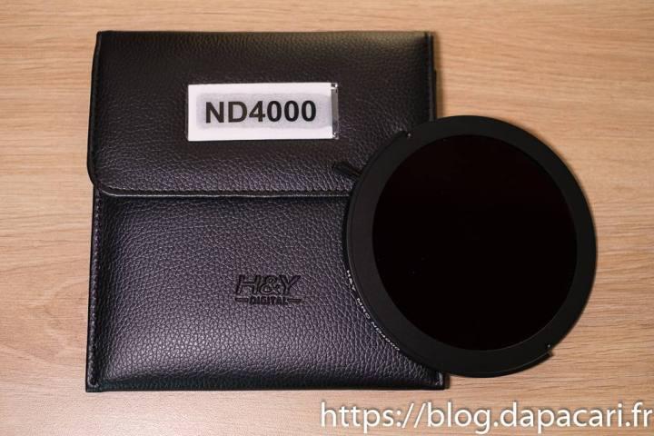unboxing ND4000 filtre H&Y