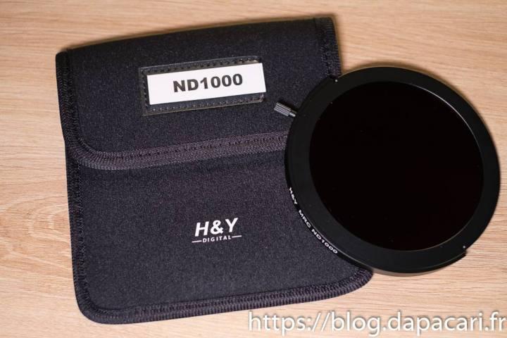 unboxing nd1000 filtre H&Y