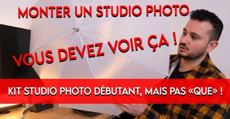 choisir un kit éclairage studio photo