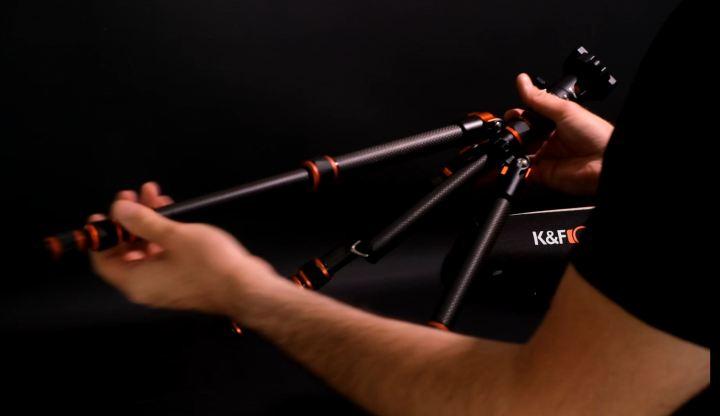 test ba225 trépied KF Concept