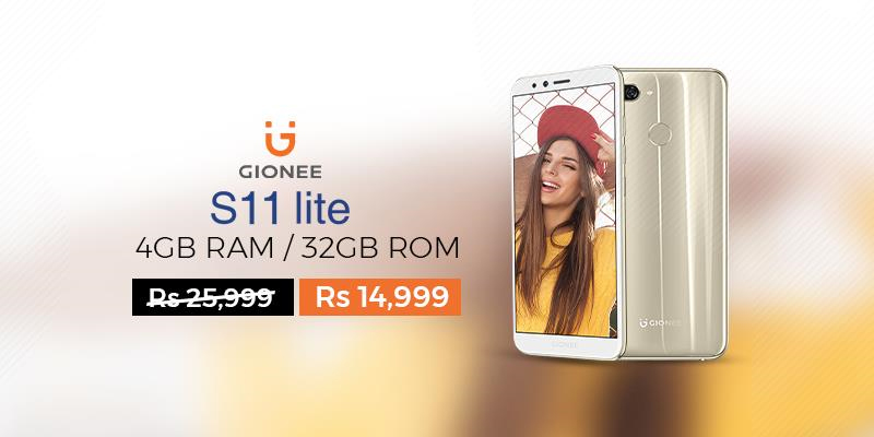 Gionee S11 Lite at Daraz