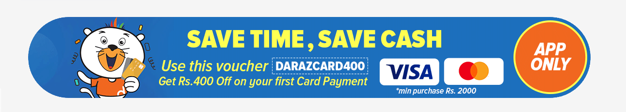 daraz card transaction