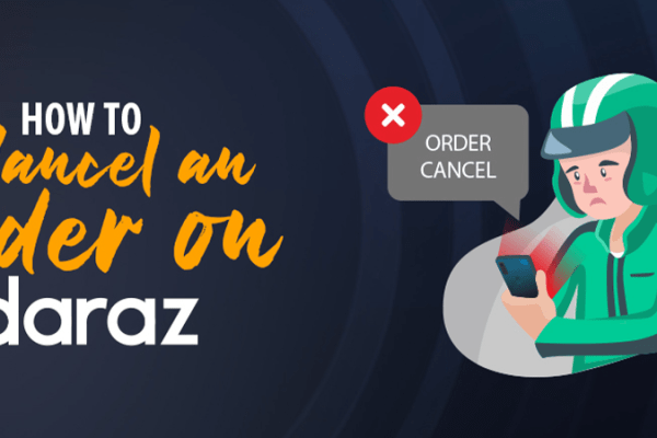 how to cancel order on daraz