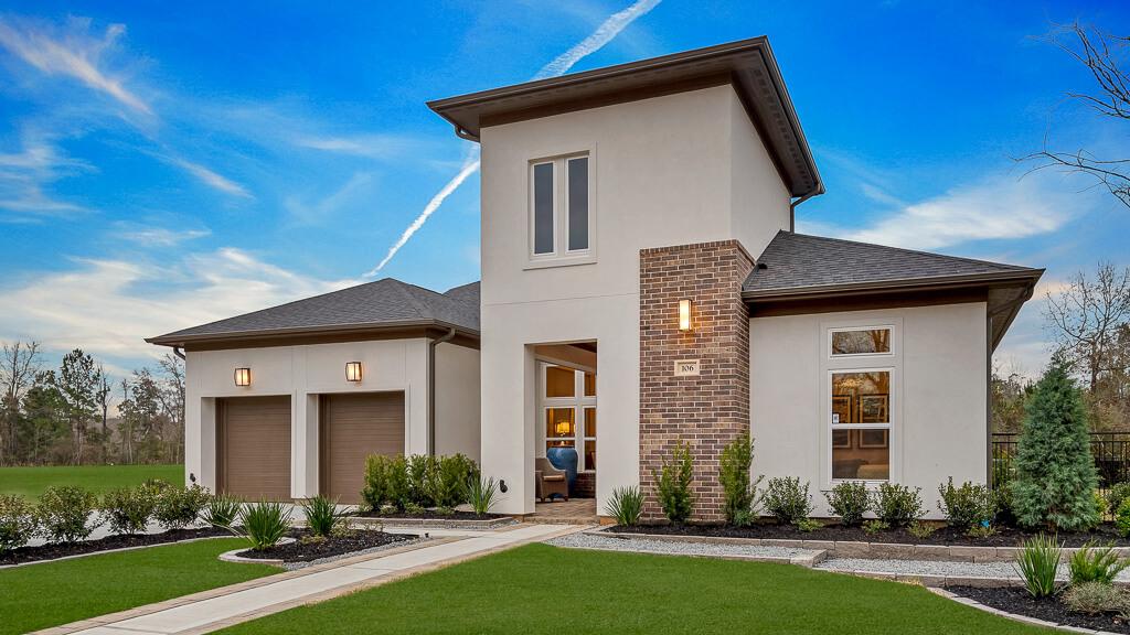 new model homes arrive in houston