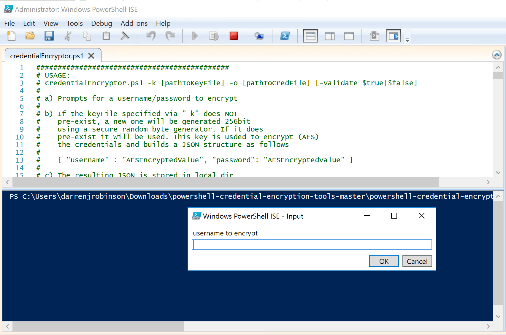 How to configure a Graphical PowerShell Dev/Admin/Support